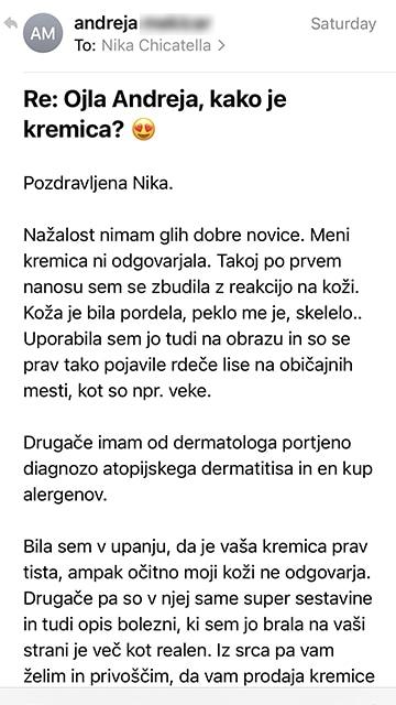 Andreja mail