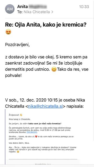Anita mail