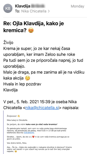Klavdija mail