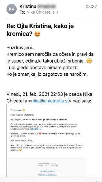 Kristina mail