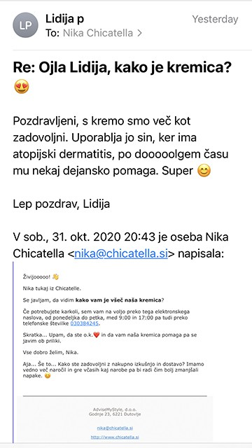 Lidija mail