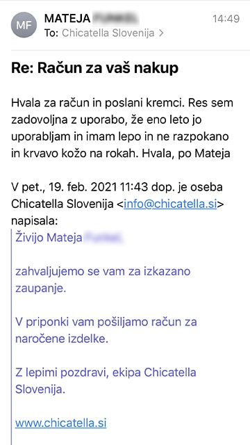 Mateja 2 mail