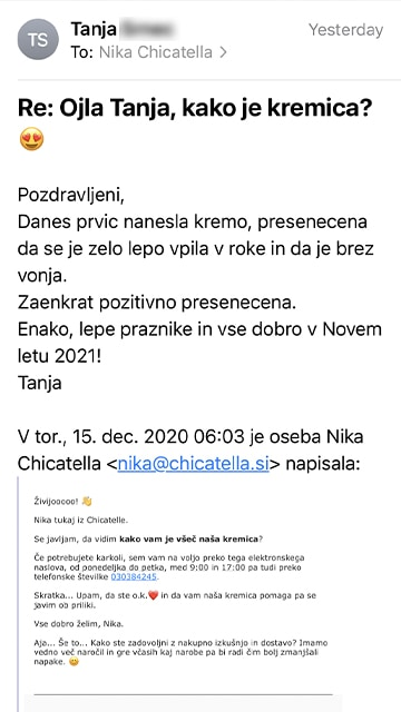 Tanja 2 mail