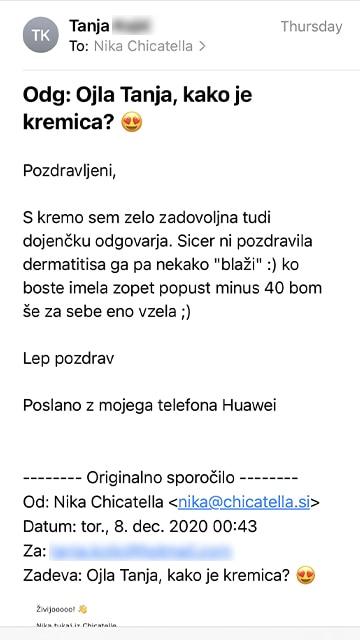 Tanja mail