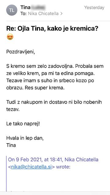 Tina mail