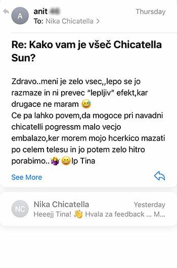 Review krema za sončenje Tina